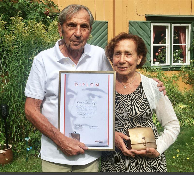 Dina och Jovan Rajs rets Raoul Wallenbergpristagare