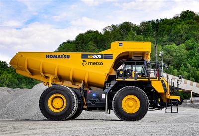 Image: Metso Truck Body for Komatsu