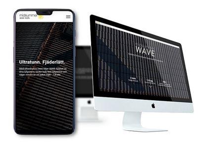 Produktsida Wave 2