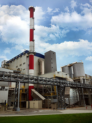 Outotec designed (CHP) plant in operation in Turkey