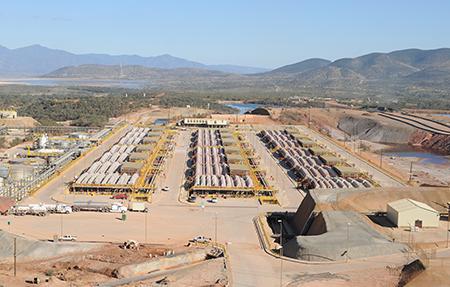 Grupo México ESDE III copper SX-EW plant