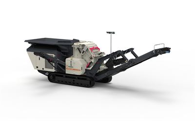 Metso Outotec Nordtrack I908 FRONT