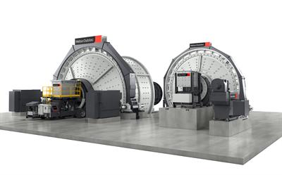 Metso Outotec horizontal grinding mills