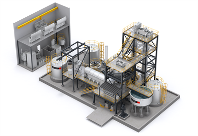 Metso Outotec Elution and Goldroom plant