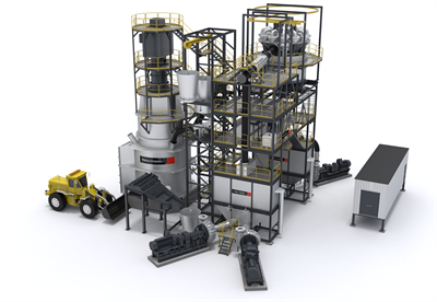 Metso Outotec-Stirred Mill Plant Unit-VTM
