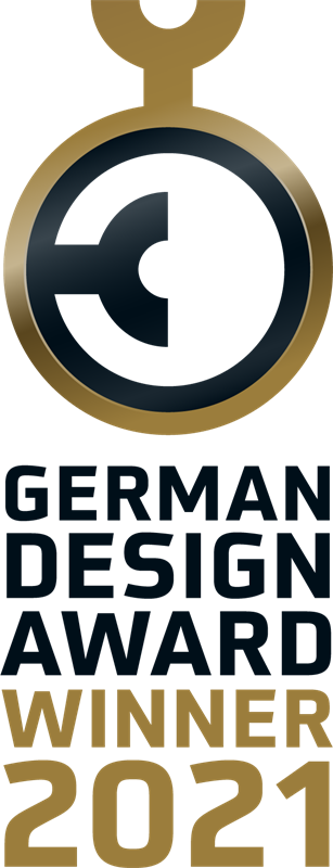 Der German Design Award wird jhrlich fr Produkte und Kommunikationsdesignleistungen verliehen die sich besonders durch ihre gestalterische Qualitt auszeichnen  Rat fr Formgebung