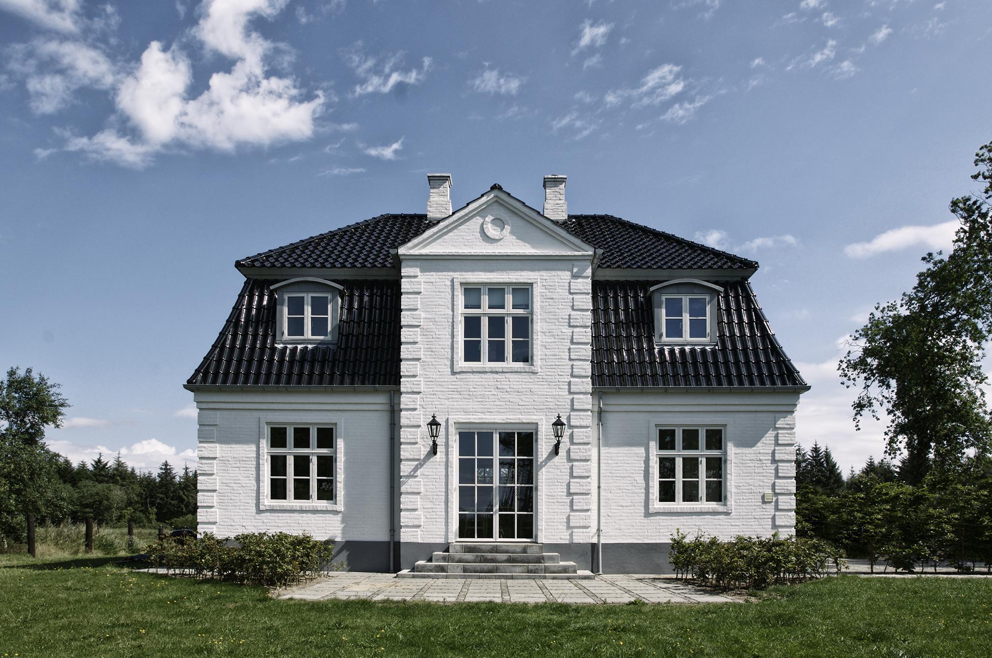 nye huse i gammel stil
