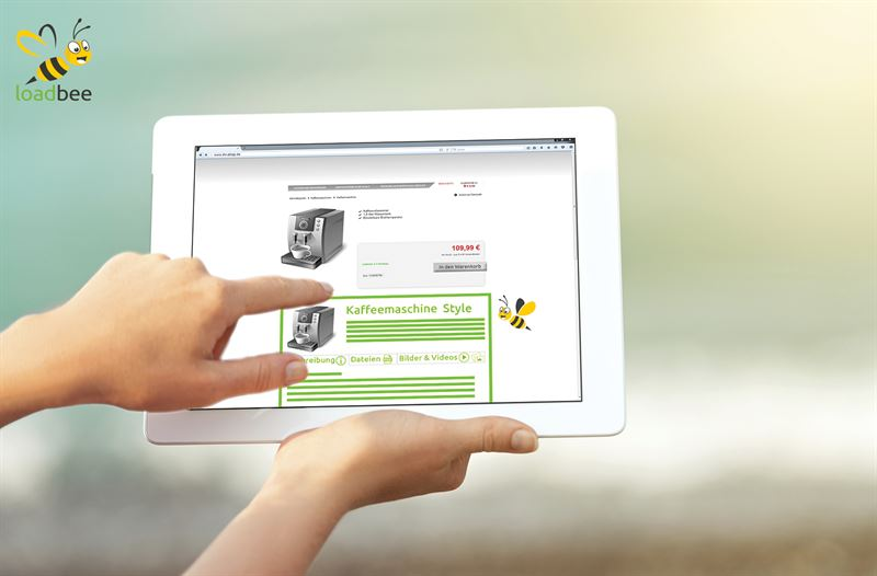 Product content visibility with loadbee Brand manufacturers reach end customers on their dealers product detail pages with their own product information in their own layout and corporate design