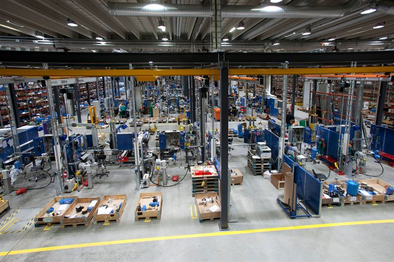 Caption One of Neles main technology centers is located in Vantaa Finland The factory started its operations in 2011