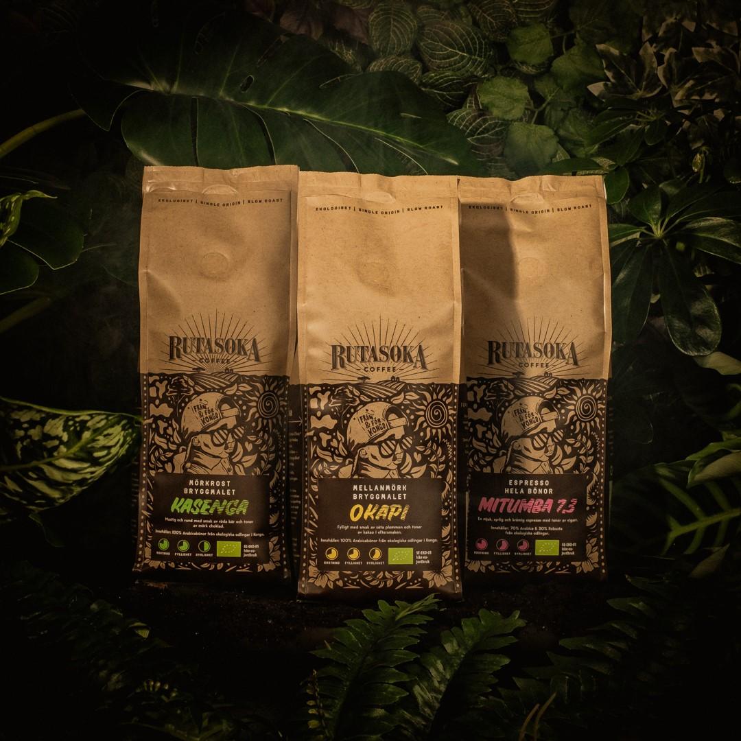 Rutasoka fortsätter att växa lavinartat och satsar nu på ett nytt initiativ för att hjälpa kaffemakare i östra Kongo .