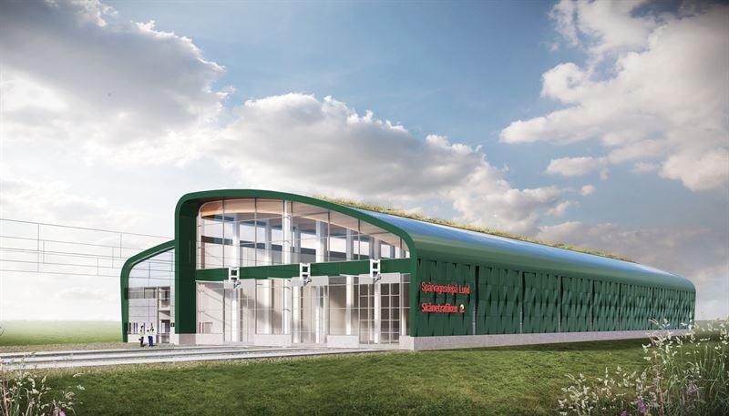 NCC bygger sprvagnsdep i Lund_Tengbom