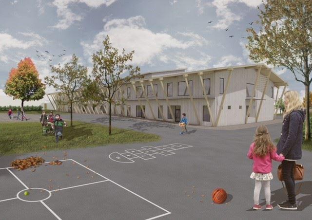 NCC utvecklar skola p Bjrk_Liljewall arkitekter