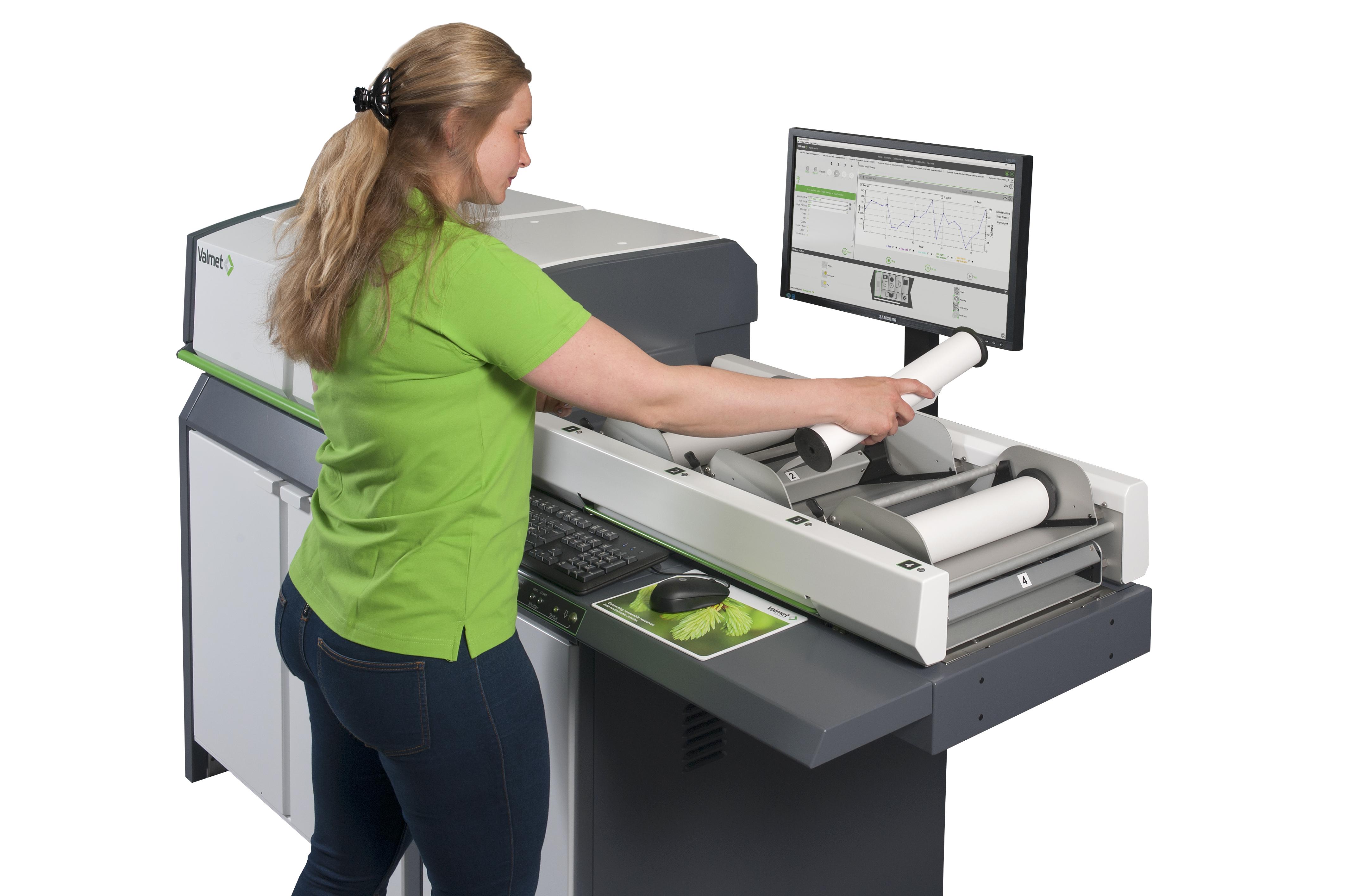 Valmet Paper Lab on automatisoitu kartongin ja paperin testauslaboratorio.
