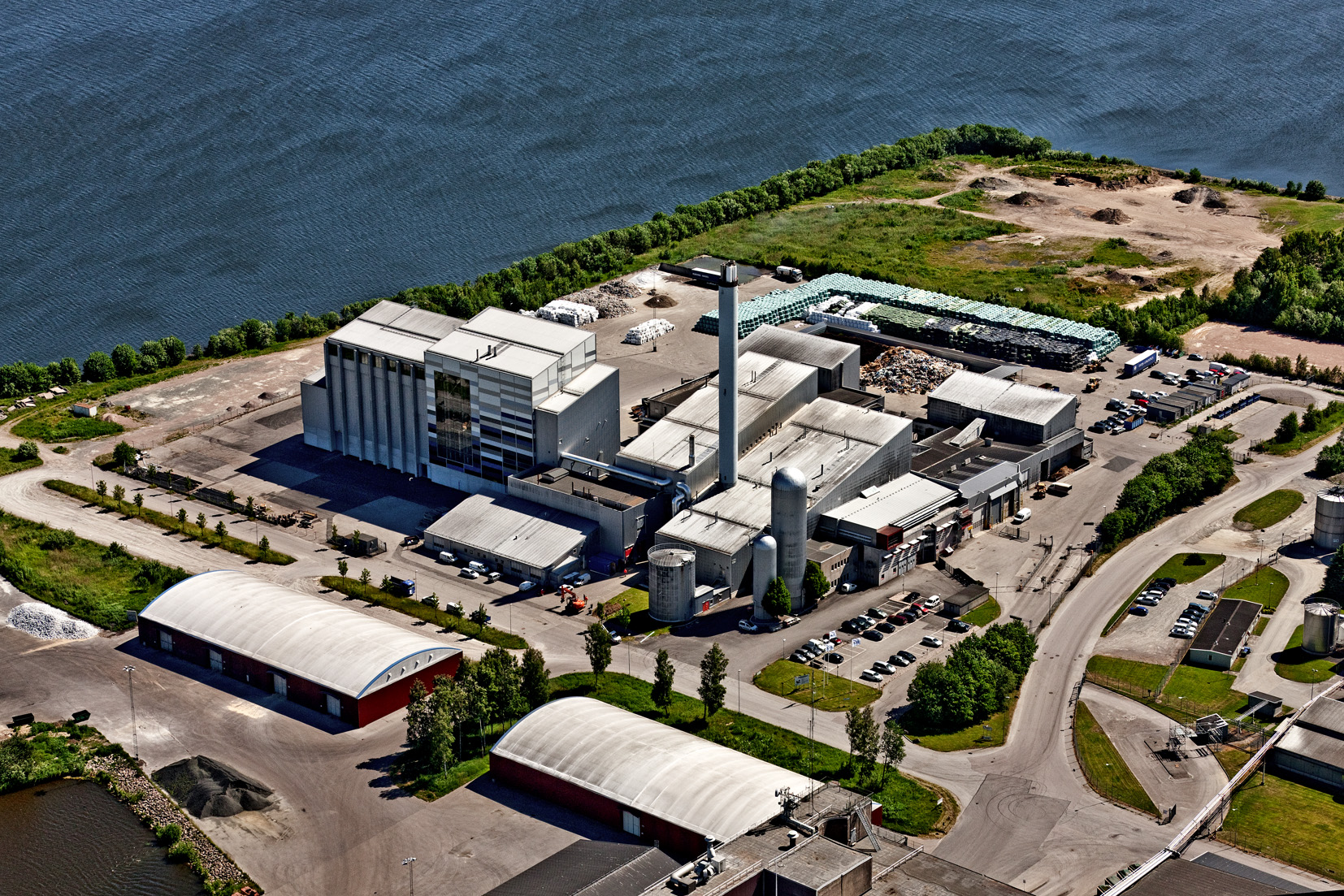 Valmet will supply a waste-fired steam boiler to Lidköping Energi AB in Lidköping, Sweden.