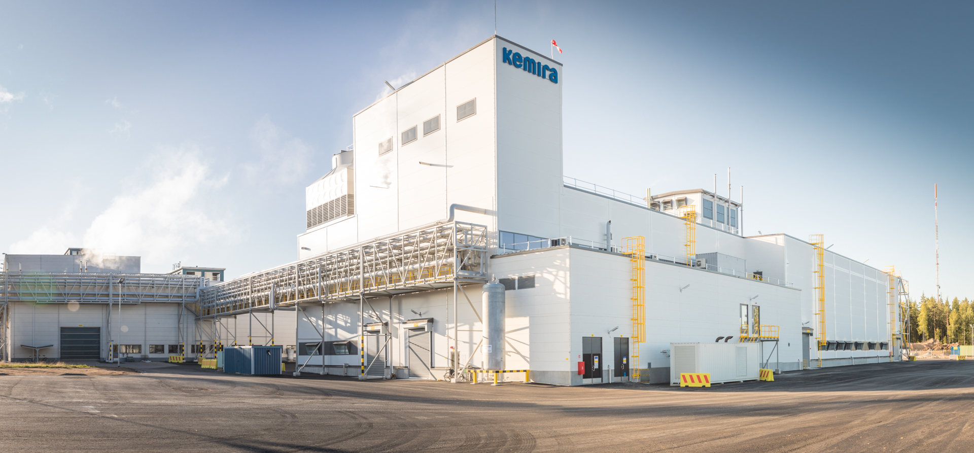 Valmet will supply an energy management solution to optimize production and energy consumption at Kemira Chemicals' bleaching chemical plants in Äetsä and Joutseno in Finland.