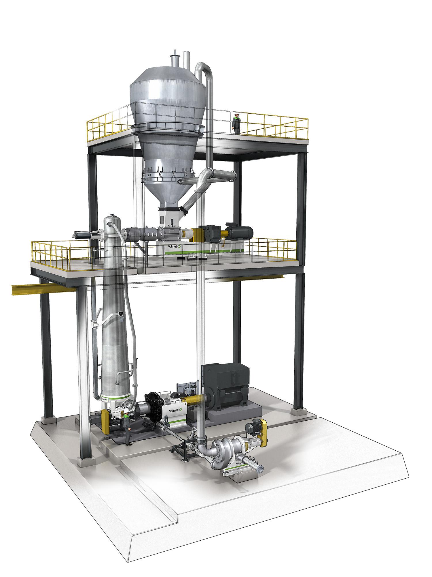 Valmet kommer att leverera ett Defibrator™-system till Tianjin Shengsong Wood Co. Ltd i Tianjin, Kina.