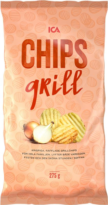 ICA Grillchips 275 g