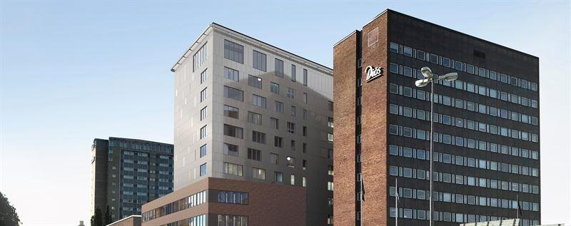 Hotellprojektet i fastigheten Magne Ume