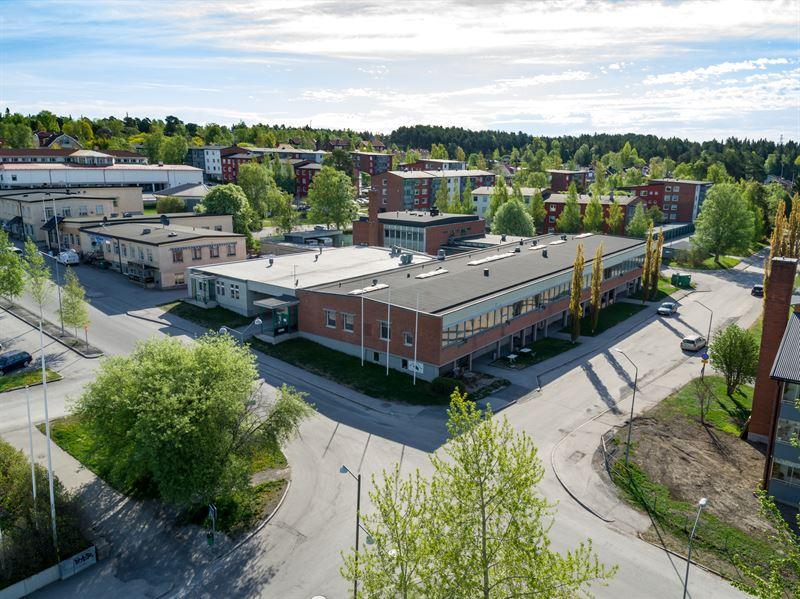 Dis utvecklar nya kontorslokaler fr NCC i den expansiva stadsdelen Sder i stersund
