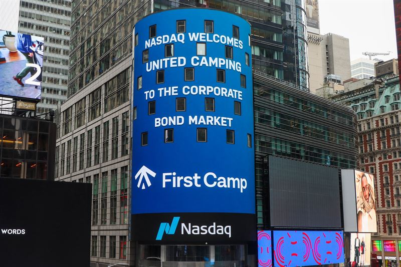 United Campings obligation tas upp till handel på Nasdaq Stockholm den 20 november