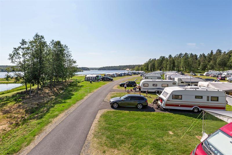 Stort intresse bland svenskar för att campa i sommar