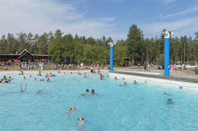 Arcusbadet pool i Luleå