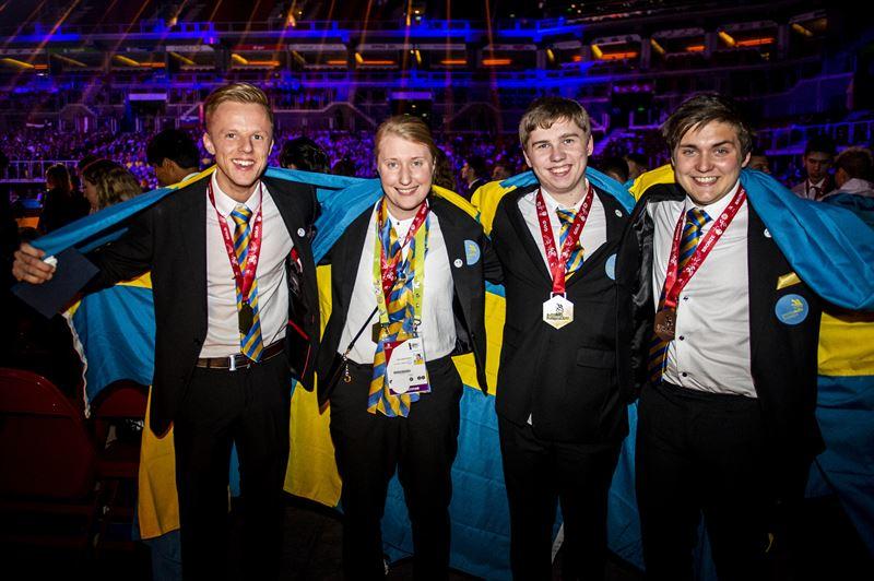 Svensk medaljskord i yrkes em
