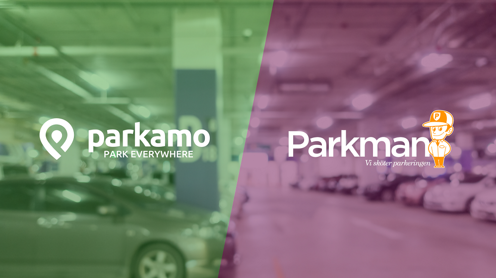 Parkeringsappen Parkamo - Park Everywhere - skriver avtal med Parkman