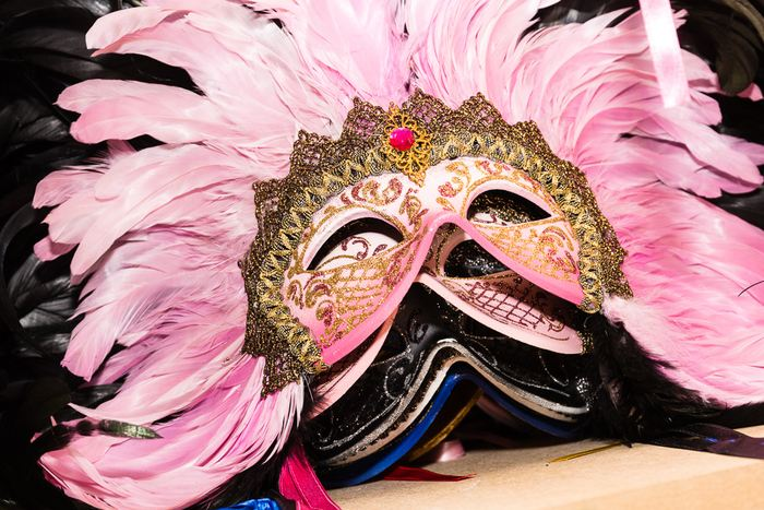Venetian mask firm helps charities boost funds with masquerade balls