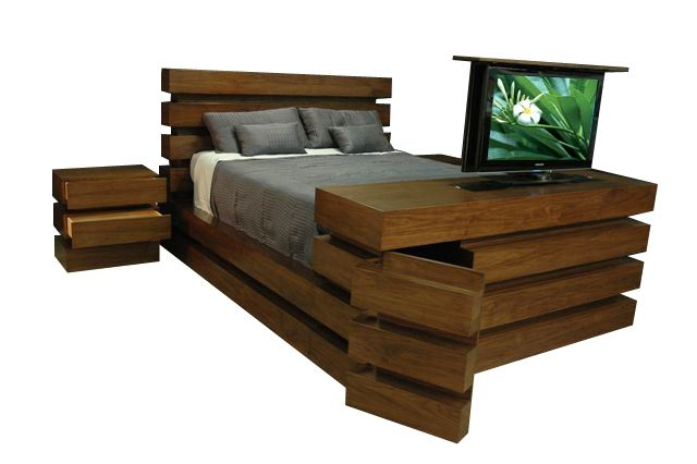 Cabinet Tronix Retailer Of The Most Coveted High End Tv Lift Furniture In Us Has Unveiled A Sublime New Integrated Bed Set That Is Going To Take