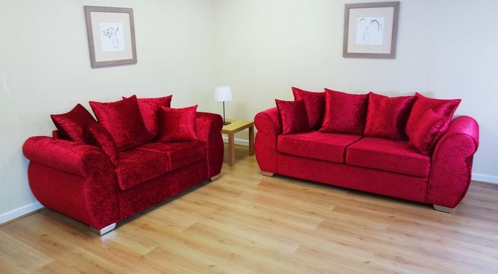 Towie Favourite Crushed Velvet Sofas
