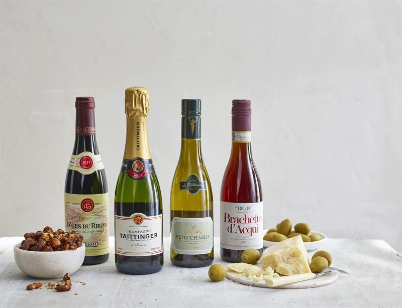 Halvflaskor Wine Affair