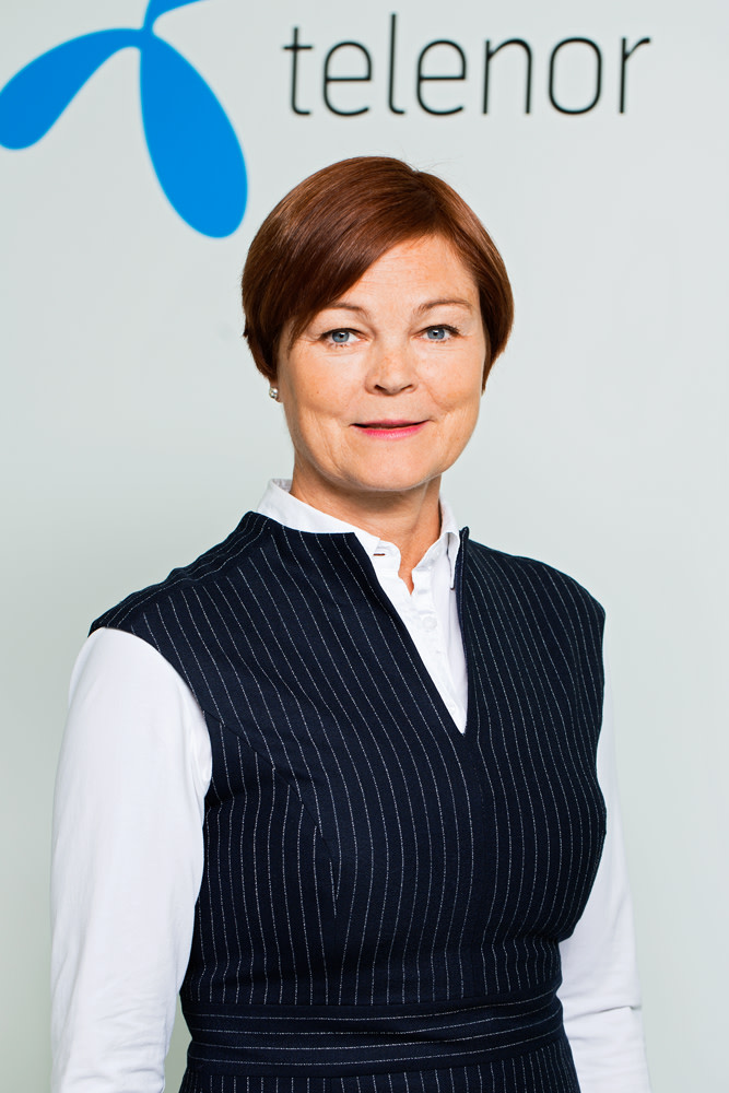 Ulrika Steg, affärsområdeschef på Telenor