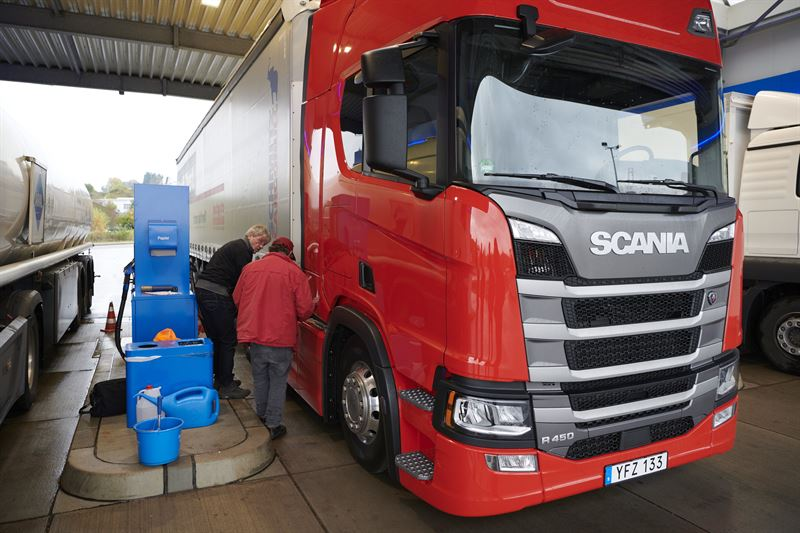 Scania tops prestigious European truck test for the second year