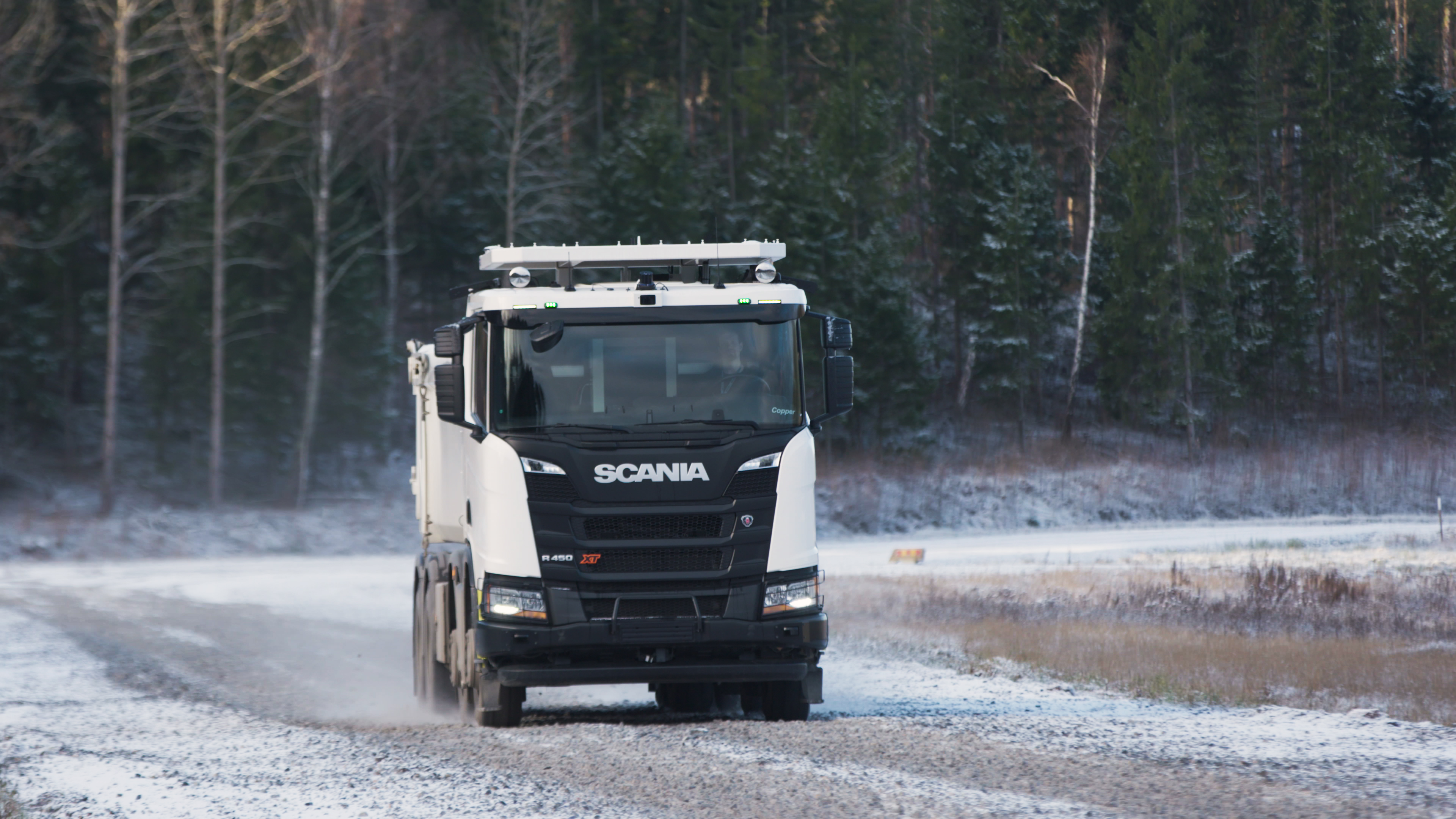 Scania and Rio Tinto trialling autonomous truck in Western