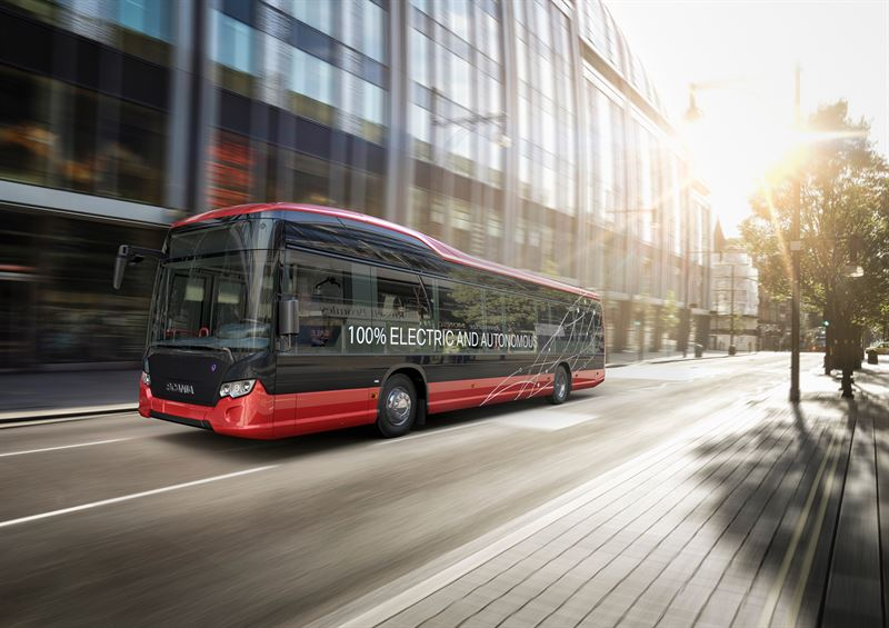 Nobina and Scania pioneer full length autonomous buses