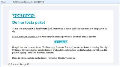 www.postnord.se spåra paket