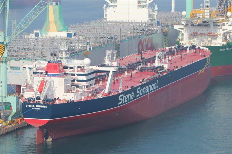 The tanker Stena Sunrise named in South Korea - Stena Bulk
