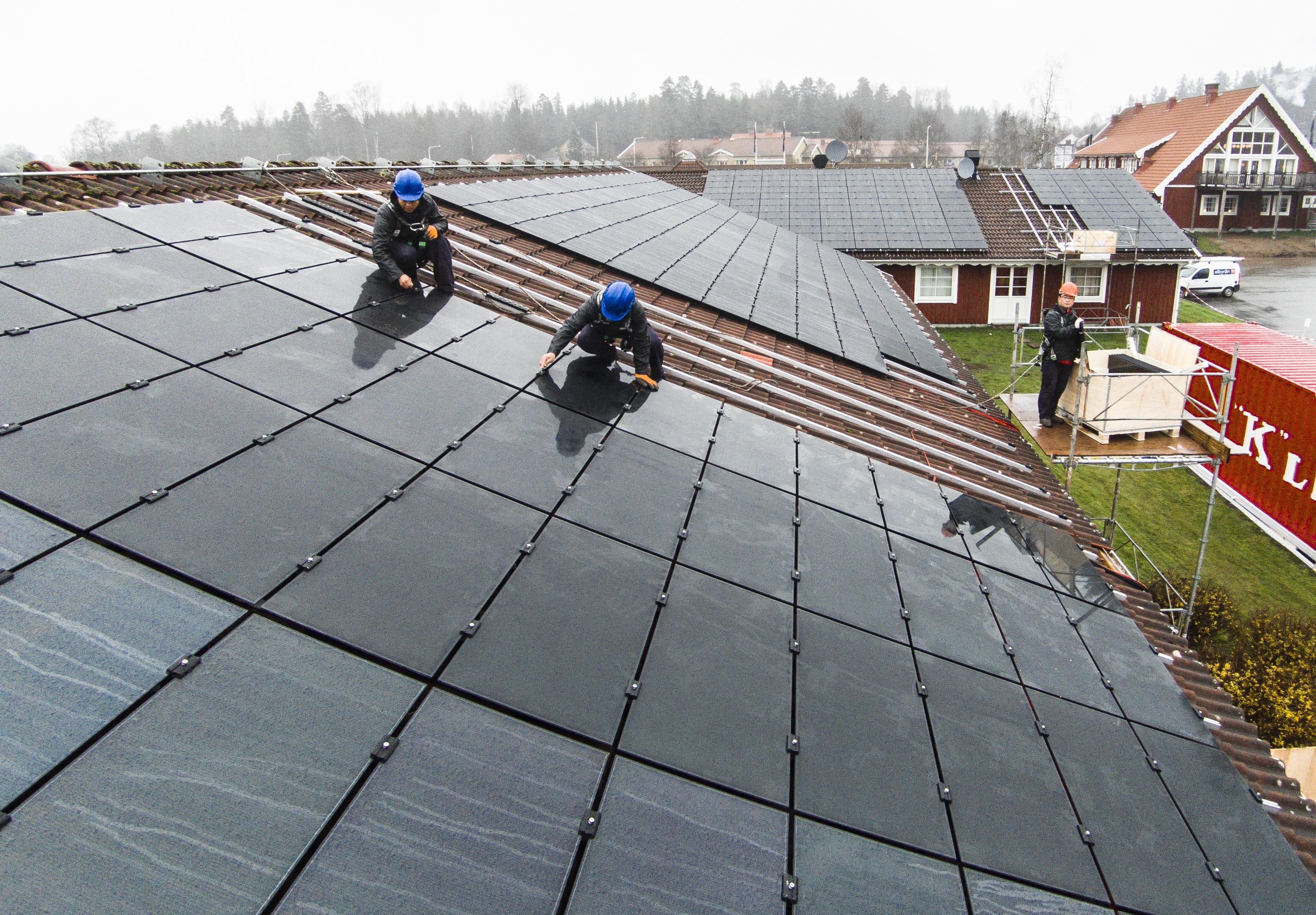 Tunnfilmssolceller Vrigstad - SolTech Energy