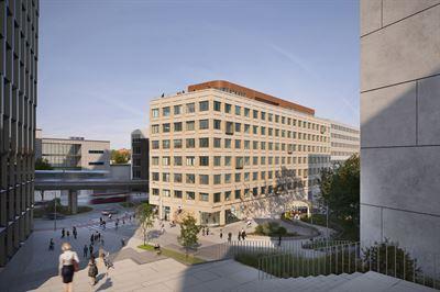 Skanska investerar cirka 390 miljoner kronor i ny kontorsbyggnad i Hammarby Sjöstad, Stockholm