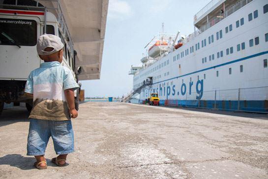 Mercy Ships ombord