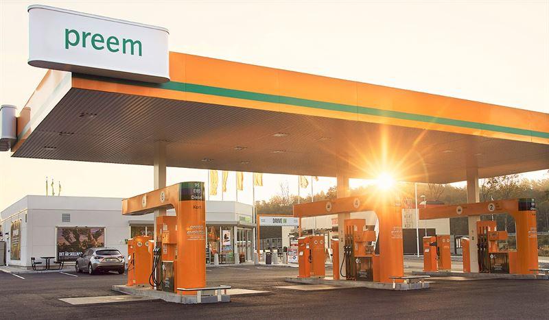 Preem station