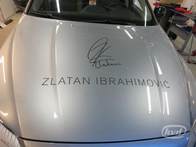 Zlatanbilen på auktion - KVD