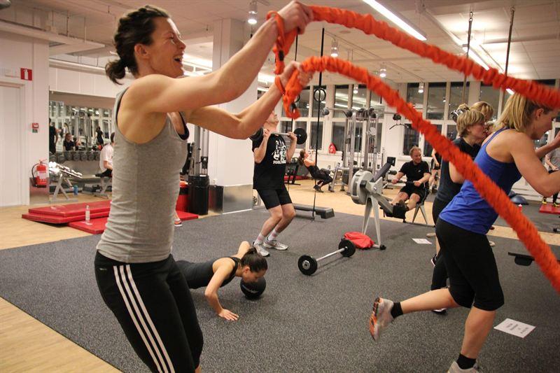 gratis gym stockholm