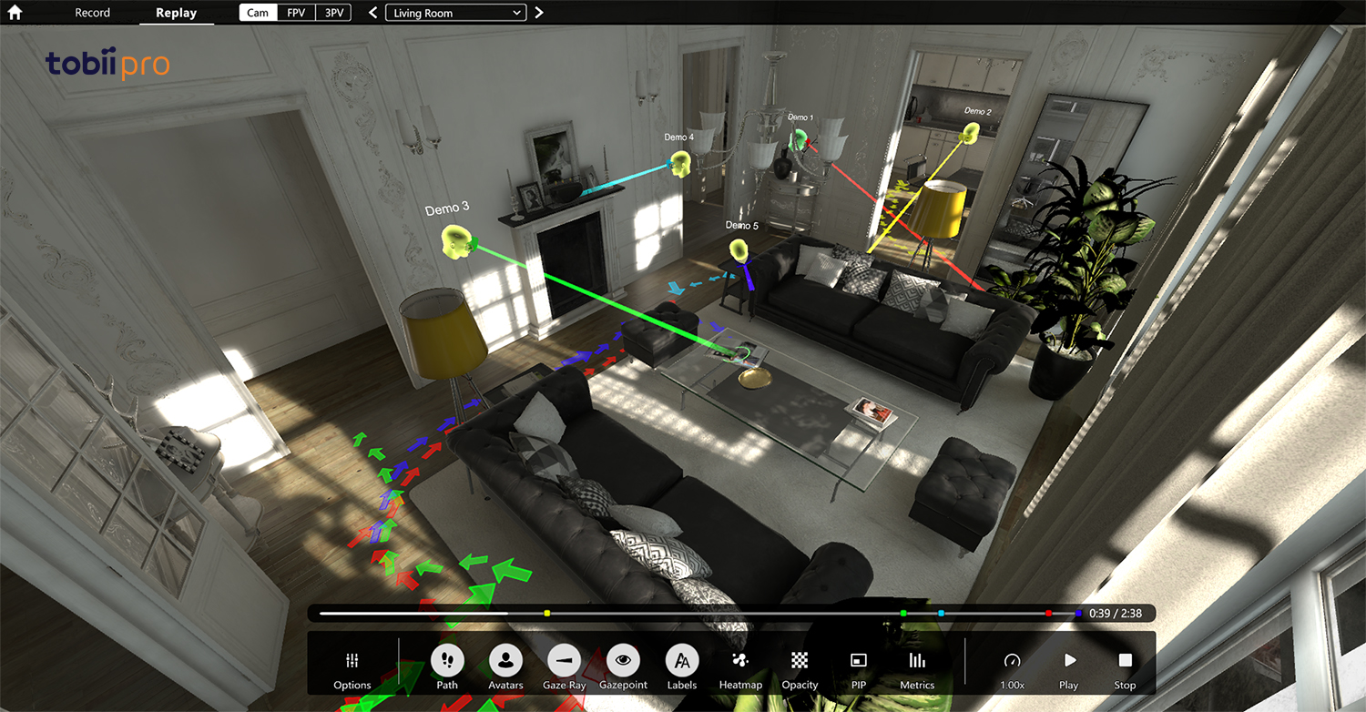 Tobii Pro Brings Eye Tracking Analytics to VR