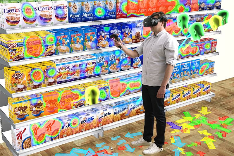 Learn how the combination of VR and eyetracking can help you reveal what attracts customers' attention, cut training costs and optimize your design before going into production.