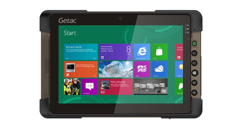 New Getac T800 8 1 Fully Rugged Tablet Designed For The Mobile Worker