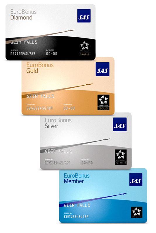 Nye EuroBonus-kort