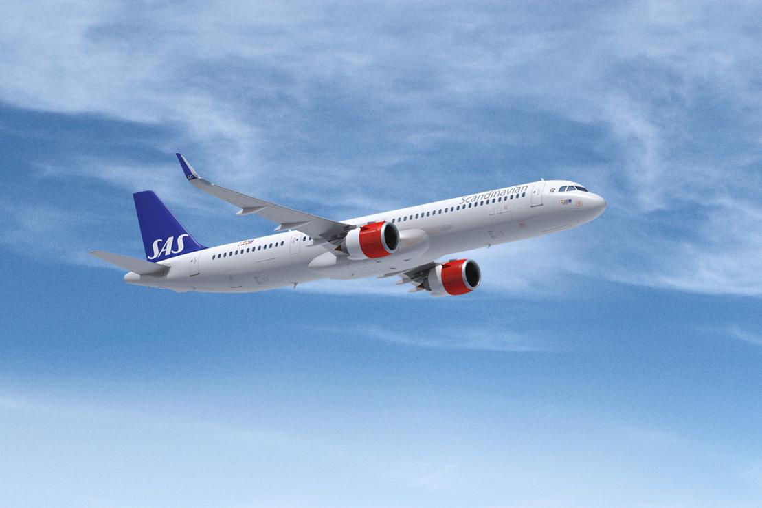 Sas Expands Its Fleet Leases Three A321 Long Range Sas