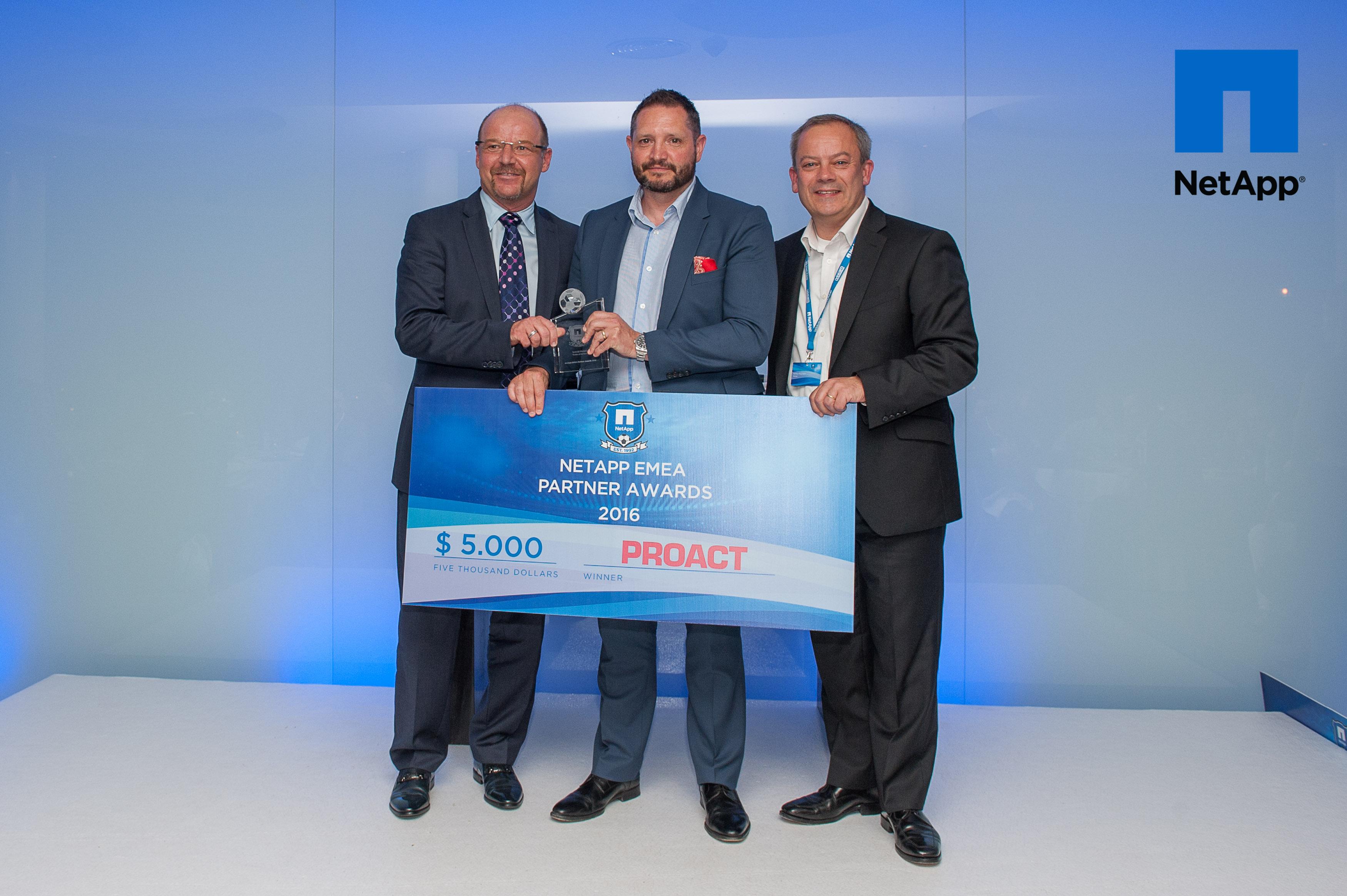 Proact-NetApp EMEA Data Fabric Award